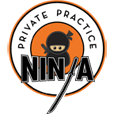 private practice ninja Mobile Logo