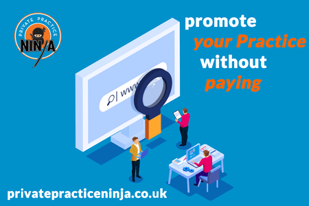 Promote Your Practice Without Paying