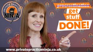 Dr Cath - don't procrastinate get stuff done